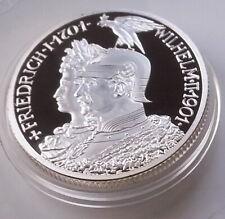 2 Mark 1901 Zwei Mark Friedrich I 1701 - Wilhelm II 1901 Deutsches Reich Proof