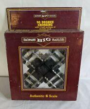 Bachmann 94358 Big Haulers 90 Degree G Scale Crossing Track