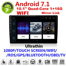 "ULTRA sottile Android 7.1 10.1"" 1080P 2Din touch screen Core 1+16G Radio Stereo Auto"