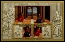 Tableau de Rafaël dans musée du Louvre, Paris. BLOC. Vatican 2005