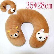 US Seller Anime Cute Bear Plush Rilakkuma Travel U Neck Pillow  #ril-178