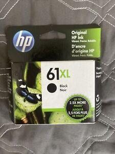 Genuine HP 61XL Black Ink Cartridge Exp April 2023 SEALED