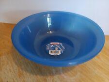 Sterilite Pasta Cereal Oatmeal Bowls 49 Oz Plastic Set of 2 Blue