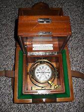 "Hamilton Chronometer Watch,  Model # 22. 21J. ""Double Boxed"" All Original.. L@@K"