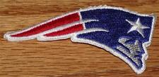 """New England Patriots Elvis Logo Polo Size Patch Iron-on 3"""" x 1"""" NEW *P7"""