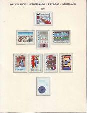 Niederlande Holland Pays Bas 1977 Lot 1**