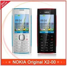 Original Unlocked X2 Nokia X2-00 Mobile Bluetooth FM JAVA 5MP Cell Phone