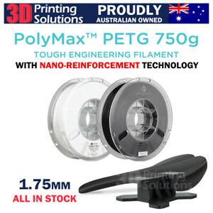 PolyMax PETG Tough Engineering 3D printer Filament 1.75mm Australia