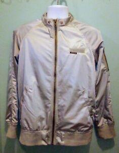 Women's Members Only Washed Satin Boyfriend Jacket In Size Medium