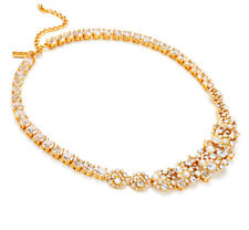 NWT KATE SPADE Pick A Pearl Delicate Faux Pearl Cluster Collar Necklace