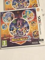 Disney Magical World 2 - NINTENDO 3DS UK PAL VGC *FREE UK POST*