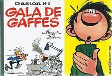 BD  Gaston N°2 - Gala de gaffes - Ré. Fac similé 2006   - Franquin -