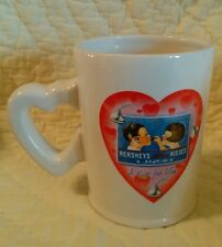 Hersheys Kisses Coffee Cocoa Cup Mug Collectible Heart Design Jumbo XL size