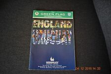 England v Uruguay Official Matchday Programme