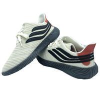 New Adidas Men's Sobakov Shoes Off White Amber Core Black BD7548 Size 9