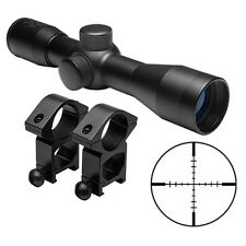 Tactical 4x30 Compact Scope + FREE Ring Mounts For Remington 770 Model 597 Rifle