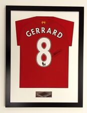 FRAME FOR SIGNED FOOTBALL RUGBY SHIRT FREE *****STADIUM OR PLAIN PLAQUE*****