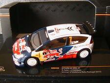 CITROEN C4 WRC #7 WINNER PORTUGAL RALLY 2010 OGIER INGRASSIA IXO RAM430 1/43