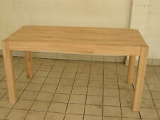 solider, stabiler Ess - oder Couchtisch aus Massivholz eigene Herstellung
