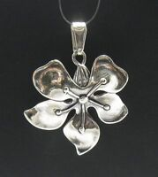 STERLING SILVER PENDANT FLOWER 925 NEW QUALITY HANDMADE