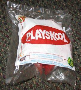 2000 Wendy's Playskool Toddler Toy - Fire Engine Truck