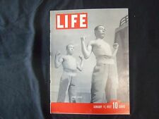 1937 JANUARY 11 LIFE MAGAZINE - JAPANESE SOLDIERS - L 8