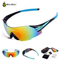 UV400 Cycling Goggles Riding Bicycle Bike Sports Windproof Sun Glasses Eyewear