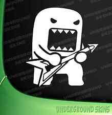 Domo Kun Rockstar FUNNY JDM DRIFT EURO WINDOW VW VINYL DECAL CAR STICKER