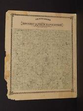 Missouri Harrison County Map Jefferson Township 1876  J9#04