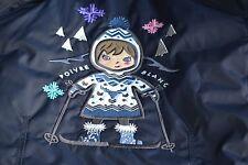 New Authentic Fille Poivre Blanc Veste De Ski Âge 3 Ans