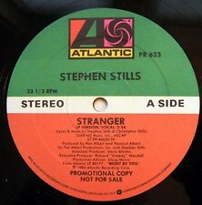 STEPHEN STILLS Stranger (1984 U.S. Double Side A Promo 12inch)