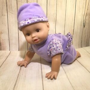 Crawling Baby Doll by Fisher Price (D)