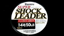 Fluorocarbon Leader LINESYSTEM super shock leader 50 lb 50meter spool japan