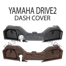 Yamaha 2017+ YDR2 The Drive2 Golf Cart Dash Cover Woodgrain, Carbon Fiber