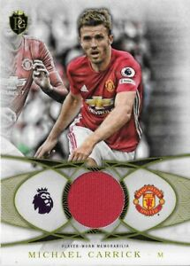 2016 TOPPS Premier Gold Michael Carrick Manchester United Relic Patch Card FF-MC