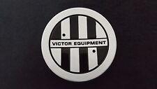 VICTOR EQUIPMENT Custom Wheel Center Cap Black Letter C-E76 PCH67 Brand NEW