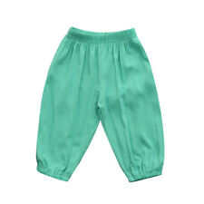 Toddler Kids Baby Boys Girls Shorts Loose Hot Pants Casual Long Pants Trousers