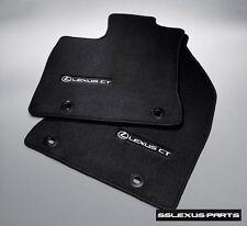 Lexus CT200H (2011-2017) OEM Genuine CARPET FLOOR MATS SET(Black) PT208-76110-25