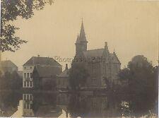 Bruges Belgique Vintage argentique Silver print sept. 1905