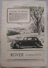 1947 Rover Original advert No.5