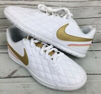 Nike Tiempo X 10R Soccer Shoes Indoor 7 Academy Club Ronaldinho Finale Youth 3