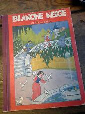 Blanche neige conte de Grimm illustrations d' Evariste