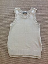 Brand New Decjuba Ladies Light Grey Sleeveless Knit Size S