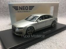 NEO SCALE MODELS 1/43 Audi A8 S8 2014 Silver Art. 46426