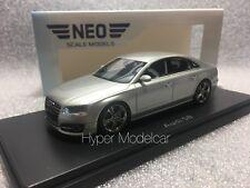 NEO SCALE MODELS 1/43 Audi A8 S8 2014 Silver Art. 46426