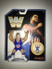 MATTEL WWE RETRO SERIES 7 KURT ANGLE USA WRESTLING ACTION FIGURE MOC WWF