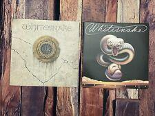 Whitesnake TROUBLE & SELF TITLED LP Vinyl Record Album LOT 78 87 Geffen Records