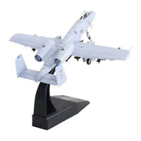 1/100 Scale American A-10 Attack Fighter Aircraft Diecast Metal Model &Stand