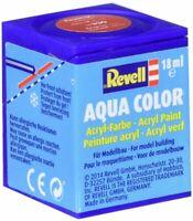 REVELL® AQUA COLOURS ACRYLIC 18ml PAINT TINS MODEL HOBBY MATT / GLOSS COLOURS