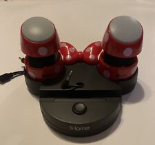 Ihome Disney Minnie Mouse Portable and Rechargeable Mini Speakers